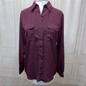 Croft & Borrow Blouse L/S Button Down